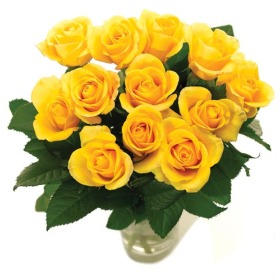 Send Yellow Roses Buy Yellow Roses By Post A Rose Meaning Of
