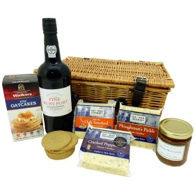 Cheeseboard and Port Hamper