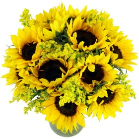Deluxe Sunflower Bouquet