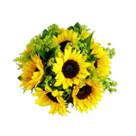 Deluxe Sunflower Bouquet | Isle of Man