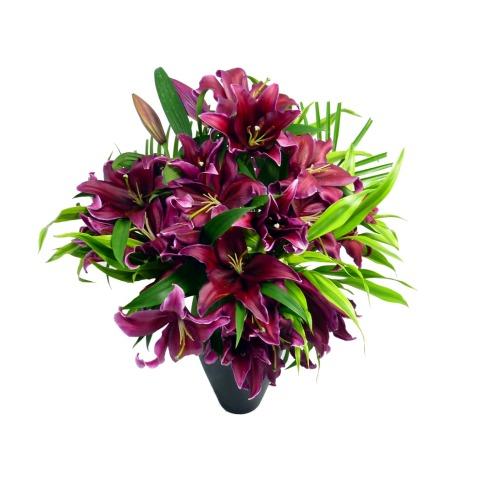 Deluxe Pink Lily Bouquet | FREE UK Delivery | Post-a-Rose ...