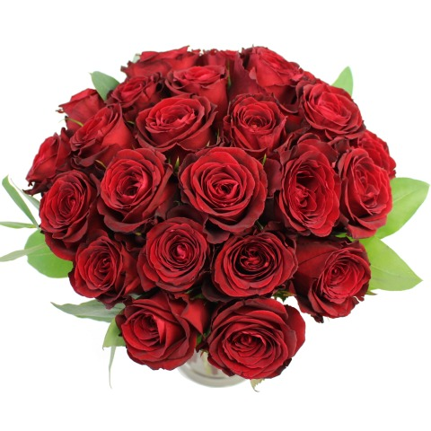 two dozen valentine red roses | free delivery | post-a-rose, Ideas