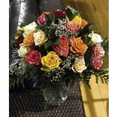 Deluxe Assorted Roses | Upgrade