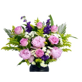 Large Pink Sapphire Bouquet