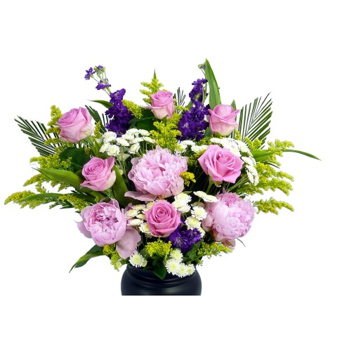 Pink Sapphire Hand-Tied Bouquet