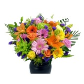 Vibrant Hand-Tied Bouquet | Isle of Man